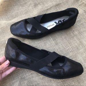 Anne Klein | AK Sport Black Ballet Flats 8